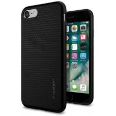 SPIGEN Ochranný kryt Spigen Liquid Air pro Apple iPhone 8/7/SE (2020) černý