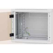 TRITON Nástěnný rozvaděč jednodílný 6U (š)600x(h)595 perfor.dveře