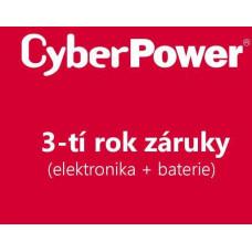 Cyber Power Systems CyberPower 3-tí rok záruky pro BP100-12V
