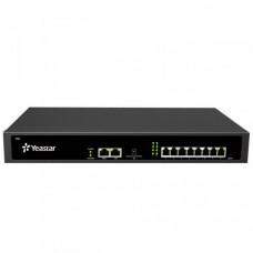 YEASTAR S50, IP PBX, až 8 portů, 50 uživatelů, 25 hovorů, rack