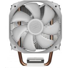 SilentiumPC chladič CPU Spartan 4 EVO ARGB/ ultratichý/ 100mm fan/ 2 heatpipes/ PWM/ pro Intel i