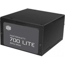 COOLER MASTER zdroj Cooler Master MasterWatt Lite 230V (ErP 2013) 700W, aPFC, 12cm fan, 80+, eff.