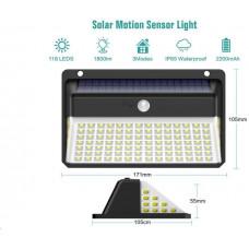 Viking venkovní solární LED světlo D118 s pohybovým senzorem