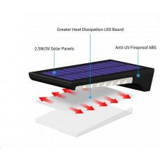 Viking venkovní solární LED světlo P94 s pohybovým senzorem
