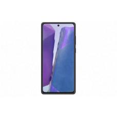 SAMSUNG Silikonový zadní kryt pro Note 20 Black