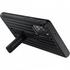 SAMSUNG Tvrzený ochranný kryt se stojánkem pro Note 20 Black
