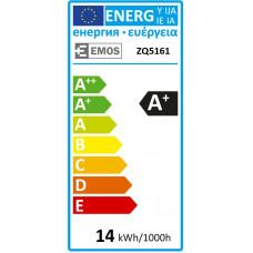 Emos LED žárovka Classic A60, 14W/100W E27, NW neutrální bílá, 1521 lm, Classic A+