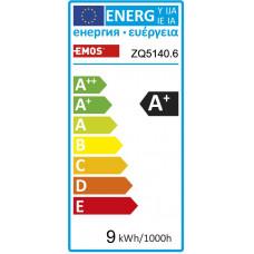EMOS LED ŽÁROVKA CLASSIC A60 9W(60W) 806lm E27 WW 6PC
