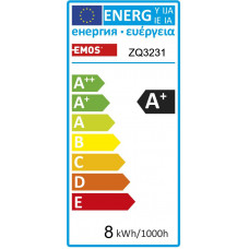 EMOS LED ŽÁROVKA CLASSIC CANDLE 8W(60W) 806lm E14 NW
