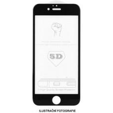 5D tvrzené sklo Huawei P40 lite Black (FULL GLUE)