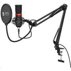 SilentiumPC SPC Gear mikrofon SM950 Streaming microphone / USB / polohovatelné rameno / mute