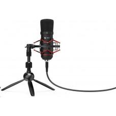 SilentiumPC SPC Gear mikrofon SM900T Streaming microphone / USB / tripod / pop filtr