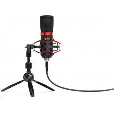 SilentiumPC SPC Gear mikrofon SM950T Streaming microphone / USB / tripod / mute tlačítko / pop fitr
