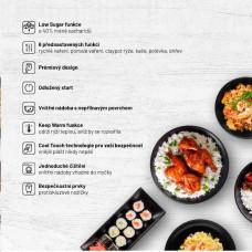 Lauben Low Sugar Rice Cooker 1500AT - rýžovar