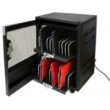 PORT DESIGNS PORT CONNECT CHARGING CABINET 20 UNITS, černý