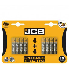 JCB SUPER alkalická baterie LR06, blistr 8 ks