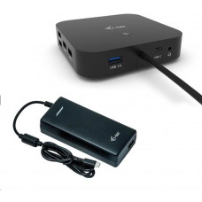 i-tec iTec USB-C Dual Display Docking Station s Power Delivery 100W + Universal Charger 112W -