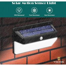 Viking venkovní solární LED světlo M108 s pohybovým senzorem