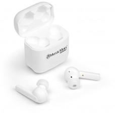 Technaxx BT In-Ear sluchátka, dokovací box, ANC, TWS, bílé (BT-X52)