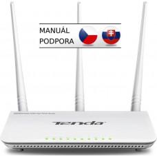 TENDA F3 (F303) WiFi N Router 802.11 b/g/n, 300 Mbps, WISP, Universal Repeater, 3x 5 dBi antény