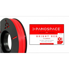 Panospace FILAMENT Panospace type: PLA -- 1,75mm, 326 gram per roll - Červená