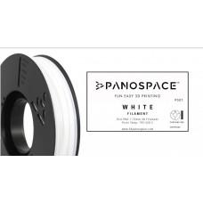 Panospace FILAMENT Panospace type: PLA -- 1,75mm, 1000 gram per roll - Bílá
