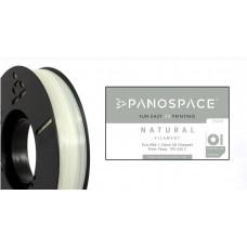 Panospace FILAMENT Panospace type: PLA -- 1,75mm, 1000 gram per roll - Přírodní