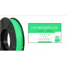 Panospace FILAMENT Panospace type: PLA -- 1,75mm, 1000 gram per roll - Zelená