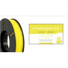 Panospace FILAMENT Panospace type: PLA -- 1,75mm, 1000 gram per roll - Žlutá
