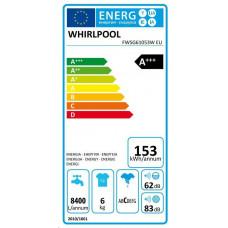 Whirlpool FWSG61053W EU pračka předem plněná