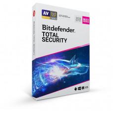 Bitdefender Total Security  - 10 zařízení na 3 roky- elektronická licence do emailu