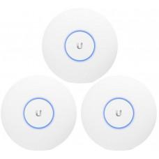 UBIQUITI UBNT UniFi AP AC PRO 2,4GHz/5GHz 3pck, PoE není součástí balení
