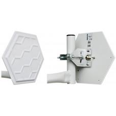 CYBERBAJT GigaEter 18dBi, 5,8 GHz, 20°, H/V rovina
