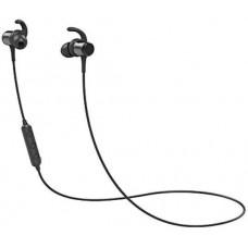 QCY - M1C, sportovní bluetooth sluchátka do uší s ovladačem a mikrofonem, černá