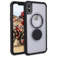 Rokform Kryt Crystal - Carbon Clear pro iPhone XS/X