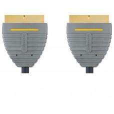 Bandridge audio video SCART kabel, 2m, BVL7102
