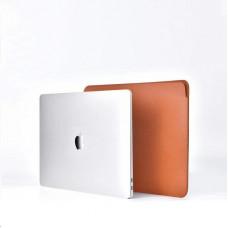 COTEetCI PU Ultra-thin Cases for MacBook 16 Brown
