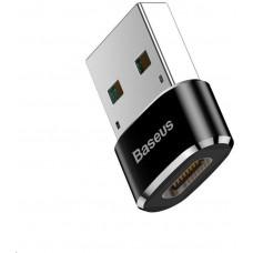 Baseus adaptér USB samec na USB-C samice 5A, černá