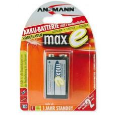 Ansmann Baterie - Ansmann maxE 9V-E block NiMH 9V 200mAh