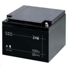 CTM Baterie - CTM CT 12-24 (12V/24Ah - M5), životnost 5let