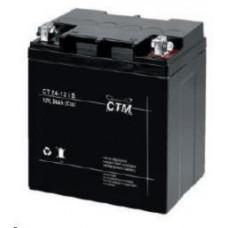 CTM Baterie - CTM CT 12-24s (12V/24Ah - M5), životnost 5let