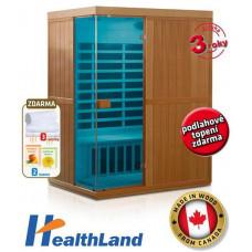 HealthLand DeLuxe 3300 Carbon - BT