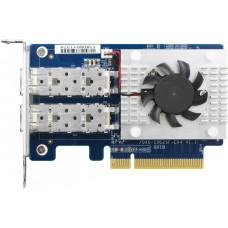 QNAP QXG-10G2SF-CX4 - dvouportová rozšiřující síťová karta 10GbE SFP+