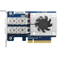 QNAP QXG-25G2SF-CX4 - dvouportová rozšiřující síťová karta 25GbE SFP28