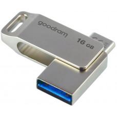 GoodRAM Flash Disk 16GB ODA3, USB 3.2, stříbrná