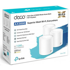 TP-LINK AX3000 Smart Home Mesh WiFi6 Deco System X60(1-pack)