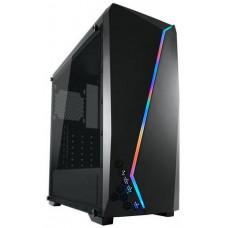 LC-POWER case Gaming 700B Hexagon Midi Tower, window, černá