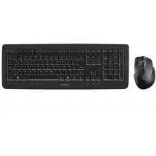 Cherry set klávesnice + myš DW 5100, bezdrátová, USB, CZ+SK layout, černá