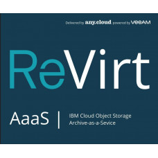 any.cloud ReVirt AaaS | Veeam Object Storage (1TB/1M)