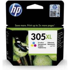 HP 305XL - 5 ml - Vysoká výtěžnost - barva (azurová, purpurová, žlutá) - originál - inkoustová
